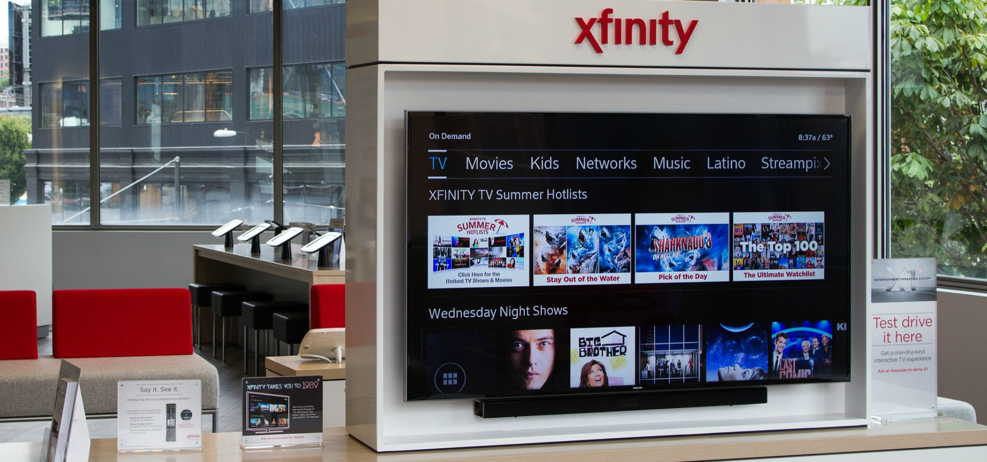 Xfinity Xfinity Discover South Lake Union