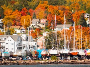Bayfield Wisconsin Showing its Fall Colors