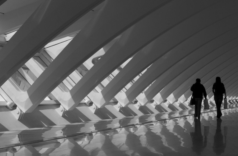 Milwaukee Art Museum - great place to spend a winters day