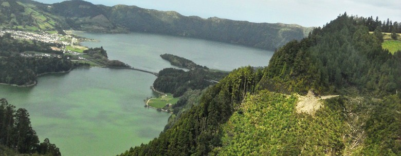 The Sete Cidades of Sao Miguel - The Azores