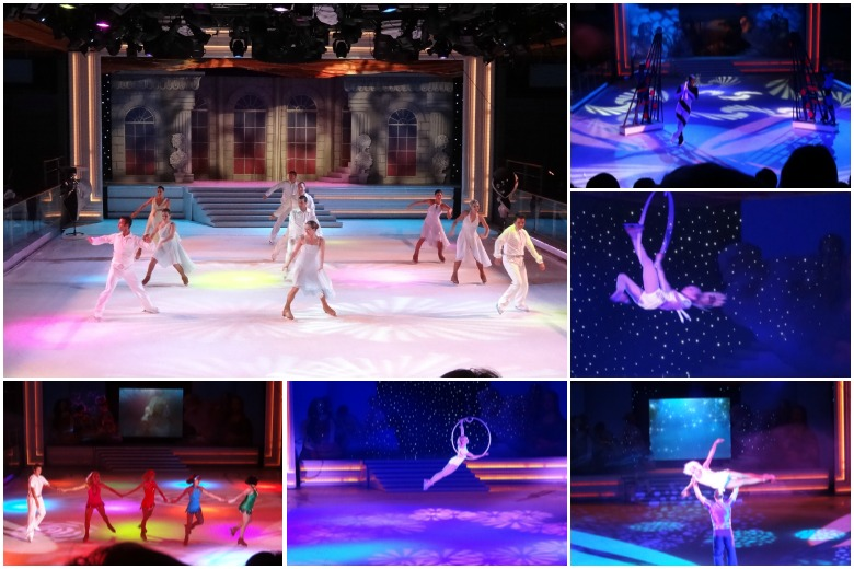 Ice show on the Adventure of the Seas
