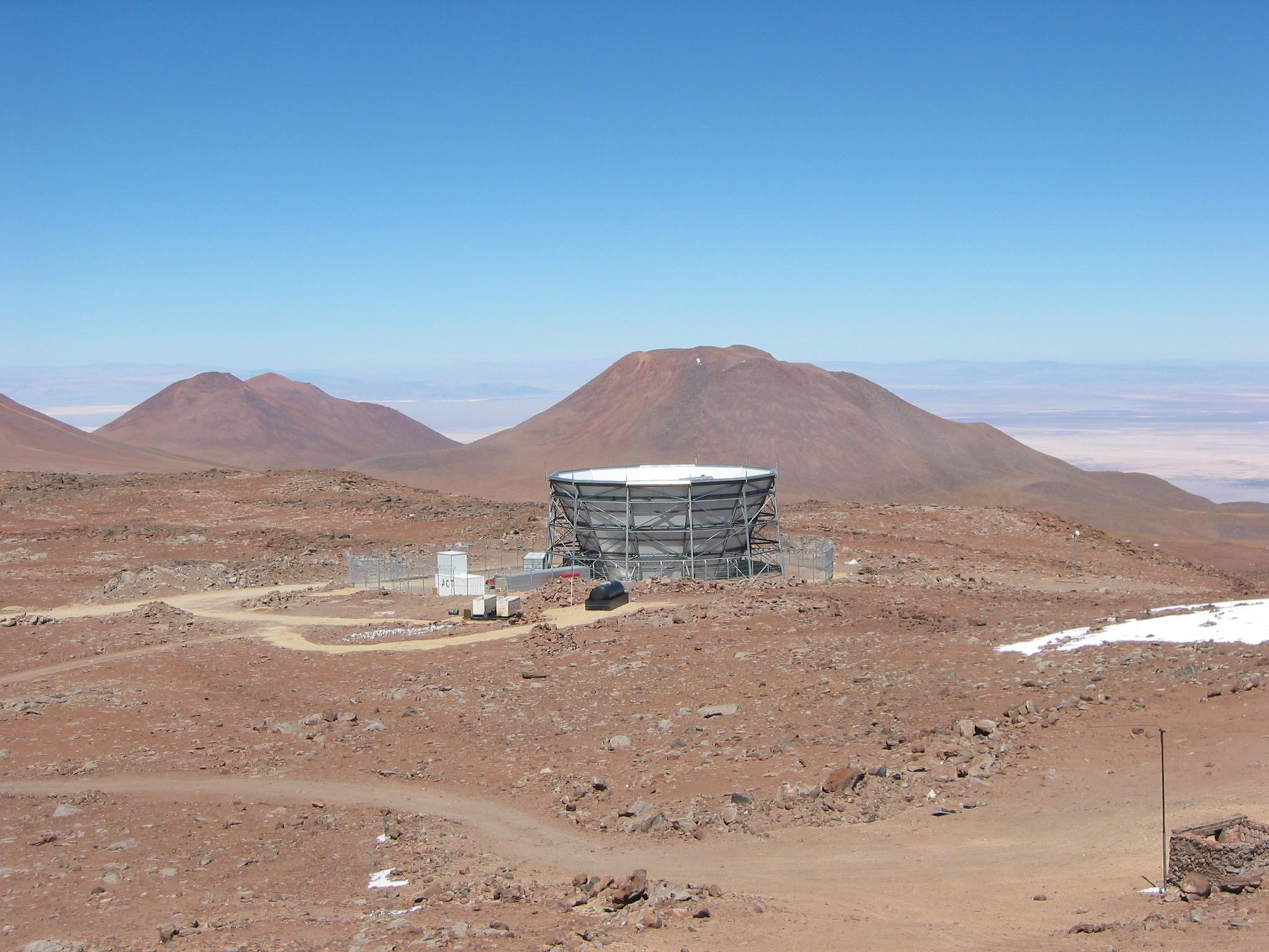 Atacama telescope - Chile