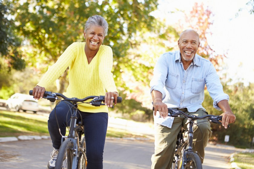 biking exercise and physical activity