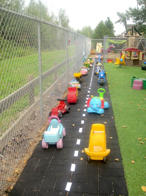 Toddler Outdoor Play Park Ride-on Race Way
