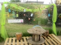 Pre-School/Pre-Kinder Outdoor Dramatic Play Area