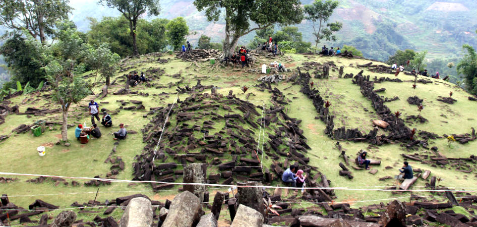 megalith site indonesia