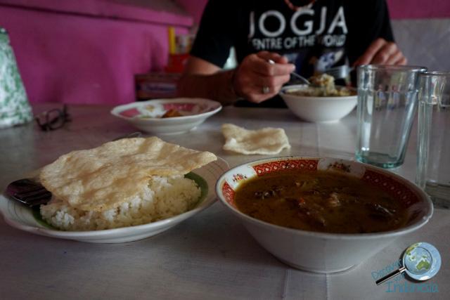 brongkos koyor authentic Javanese food