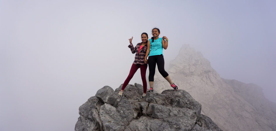 hiking merapi volcano to the peak