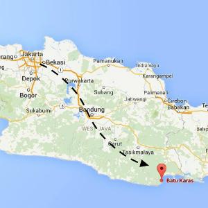map Batu Karas