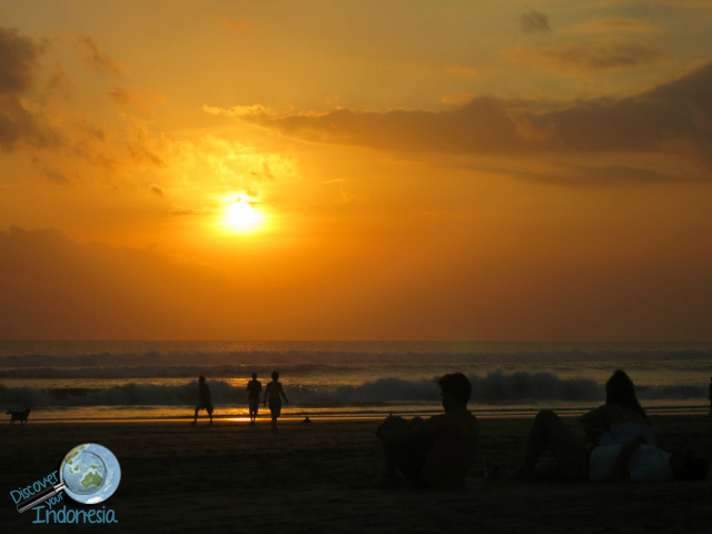 one of sunsets bali