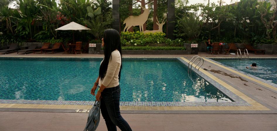 swimming pool of gallery prawirotaman hotel