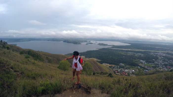 View from Ifar Gunung Jayapura