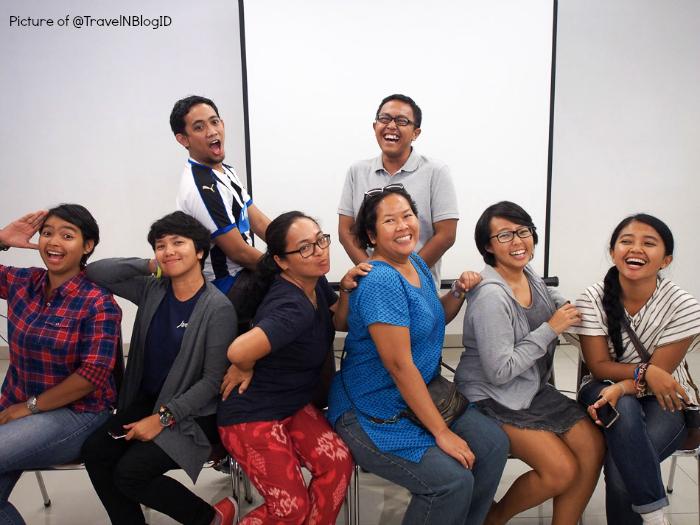 travel and blog workshop Jakarta
