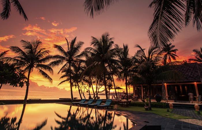 Sunset from Nirwana Candidasa