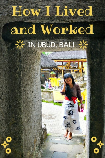 How I Lived and Worked in Ubud Bali 1 month