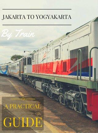 Jakarta to Yogyakarta train
