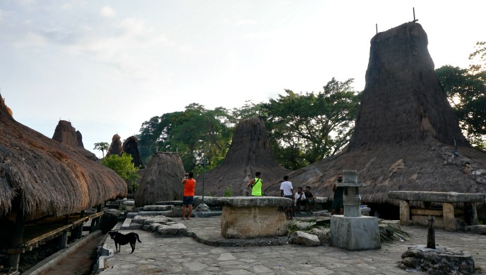 Waitabar village in Sumba