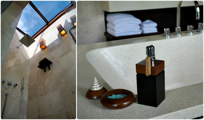 bathroom and some amenities of the villa