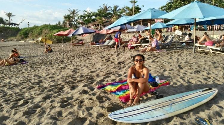 Beach time in Canggu
