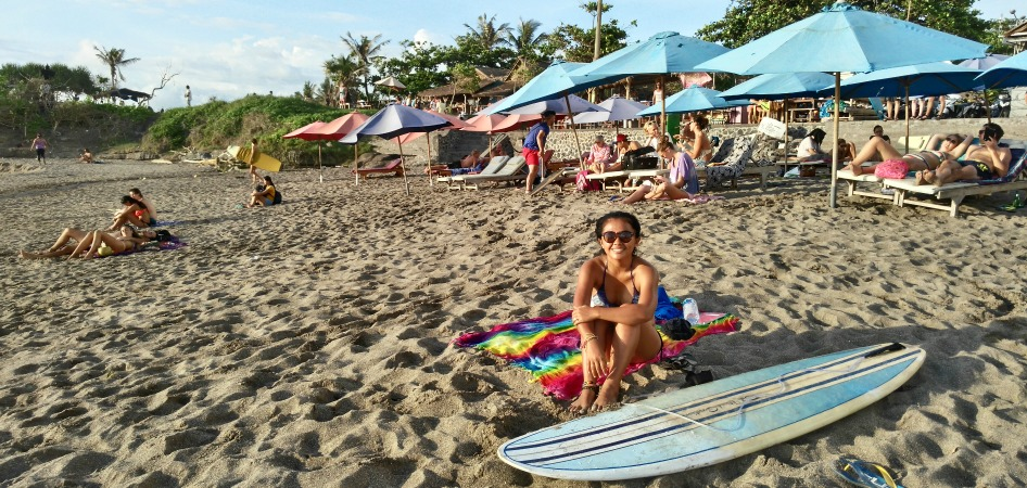 Beach time in Canggu
