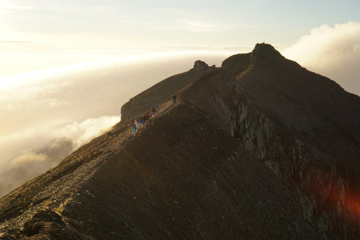 Mount Agung Summit, Summit Mount Agung