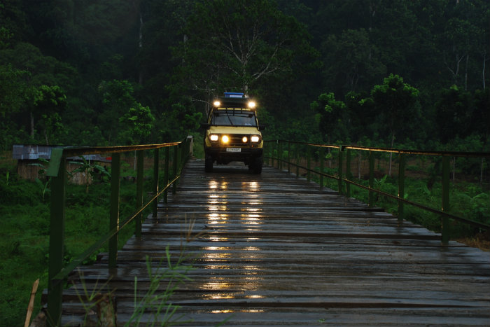 Jeep rental for Sukamade National Park