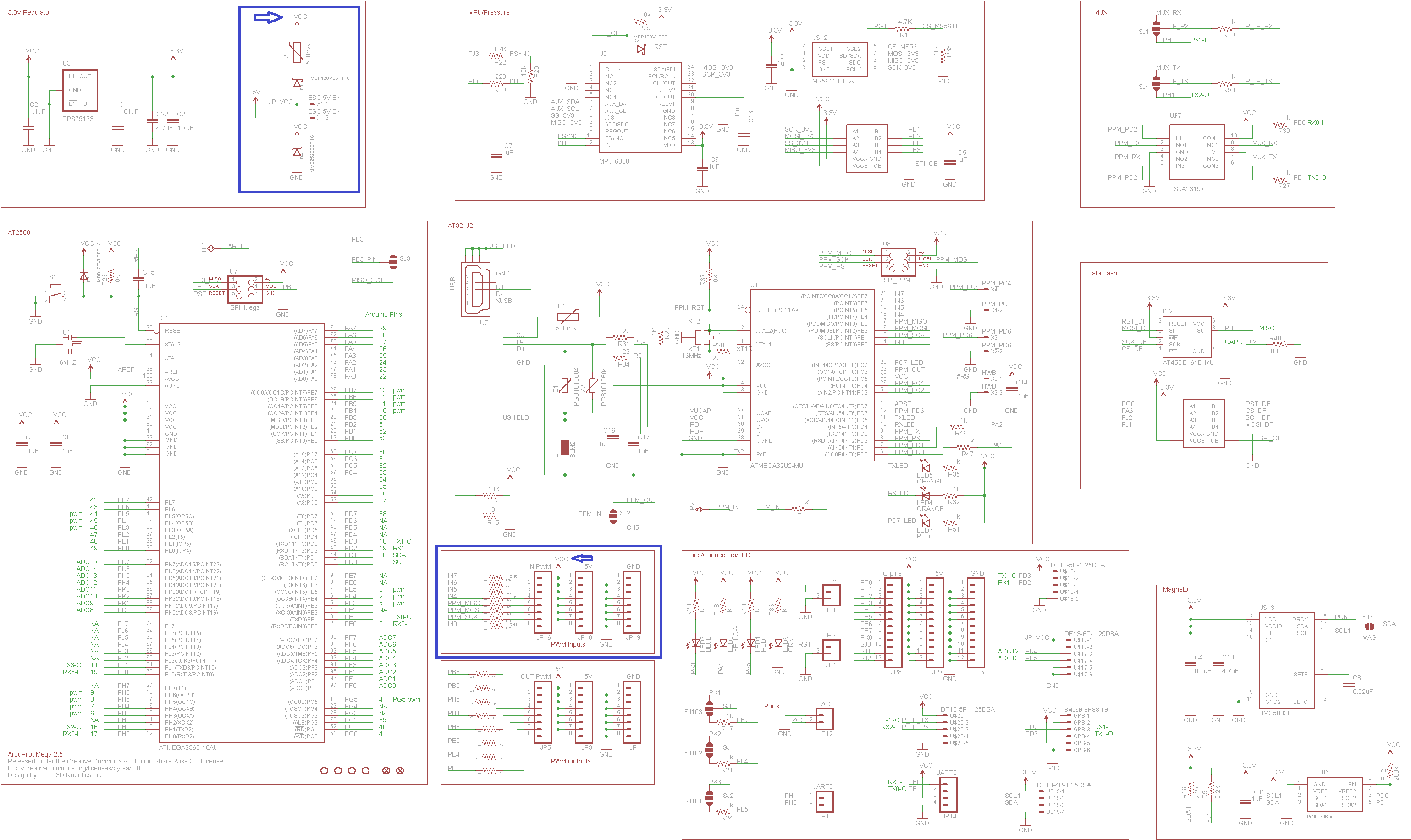 ardupilot power module schematic
