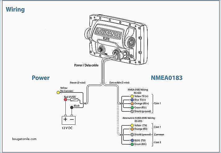 Nmea 0183 Wiring Diagram - Data Wiring Diagram