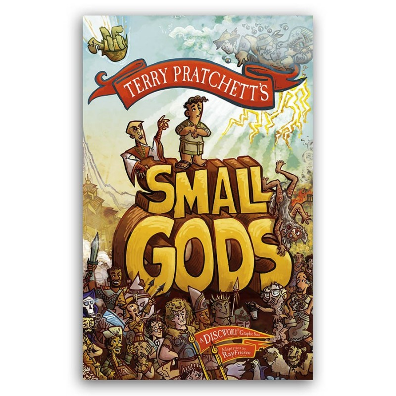 You Can Book Me Ltd Small Gods Graphic Novel Terry Pratchett Illustrated Books