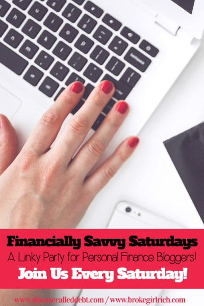 Financially Savvy Saturdays #101 - Disease called Debt