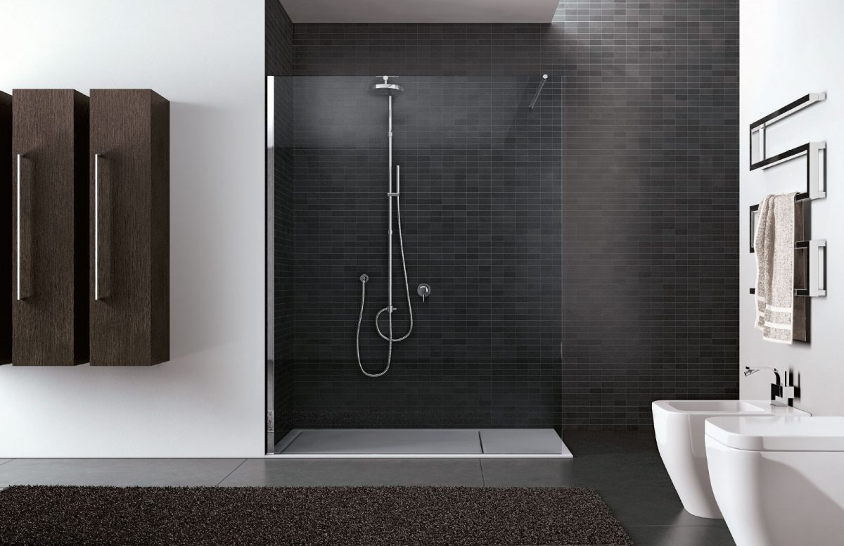 Doccia Walk In Walk In Frameless Shower Enclosure Disenia