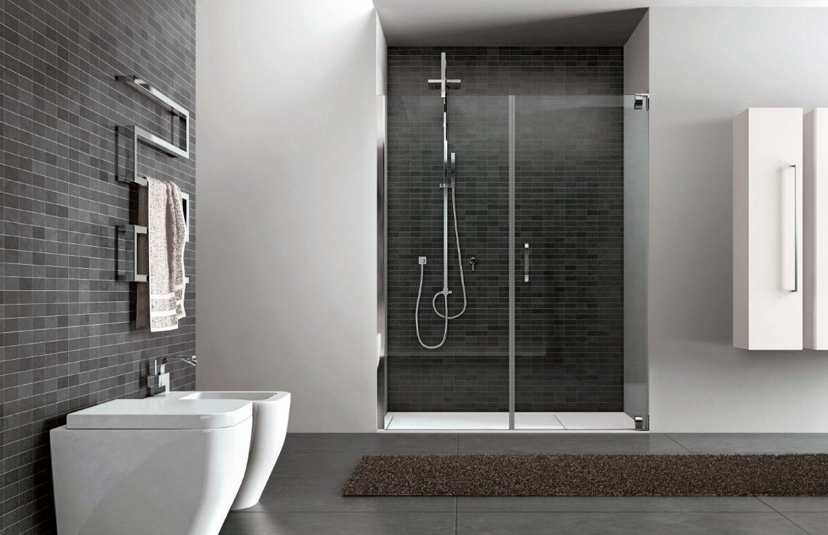 Doccia Glass Hand Glass Shower Enclosure Disenia