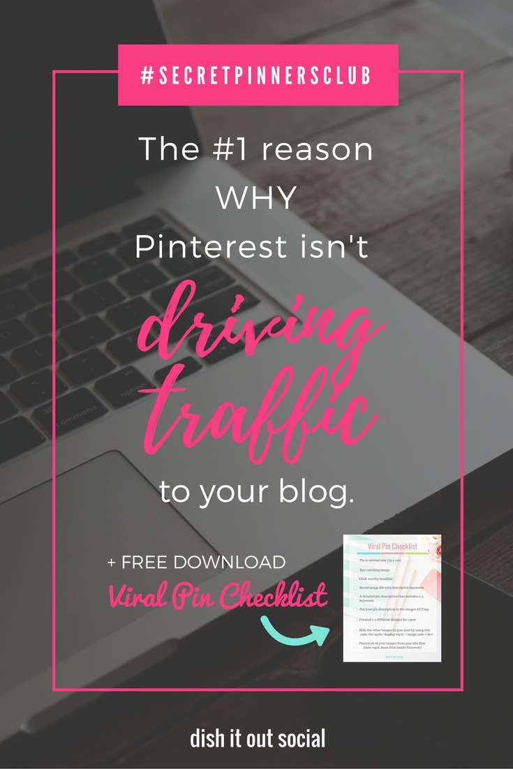 If your a new blogger trying to figure out why Pinterest isn't driving traffic to your blog, then you need to read this. Blogging tips // Pinterest Marketing