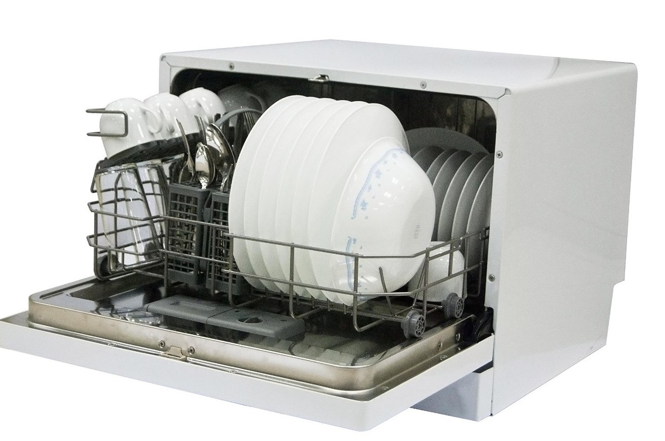 Avanti Countertop Dishwasher Review Of Magic Chef Mcscd6w1 Countertop Dishwasher