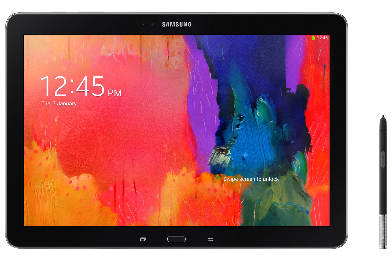 Grote Tablet Samsung Galaxy Notepro Sm P900 Android Tablet Diskidee