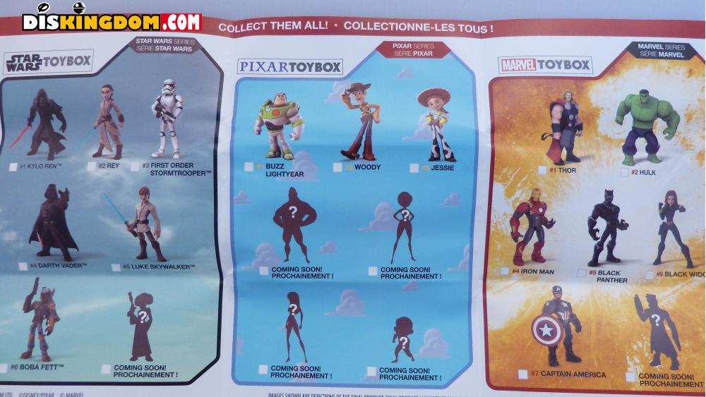 More Disney Infinity Style Toybox Action Figures Coming