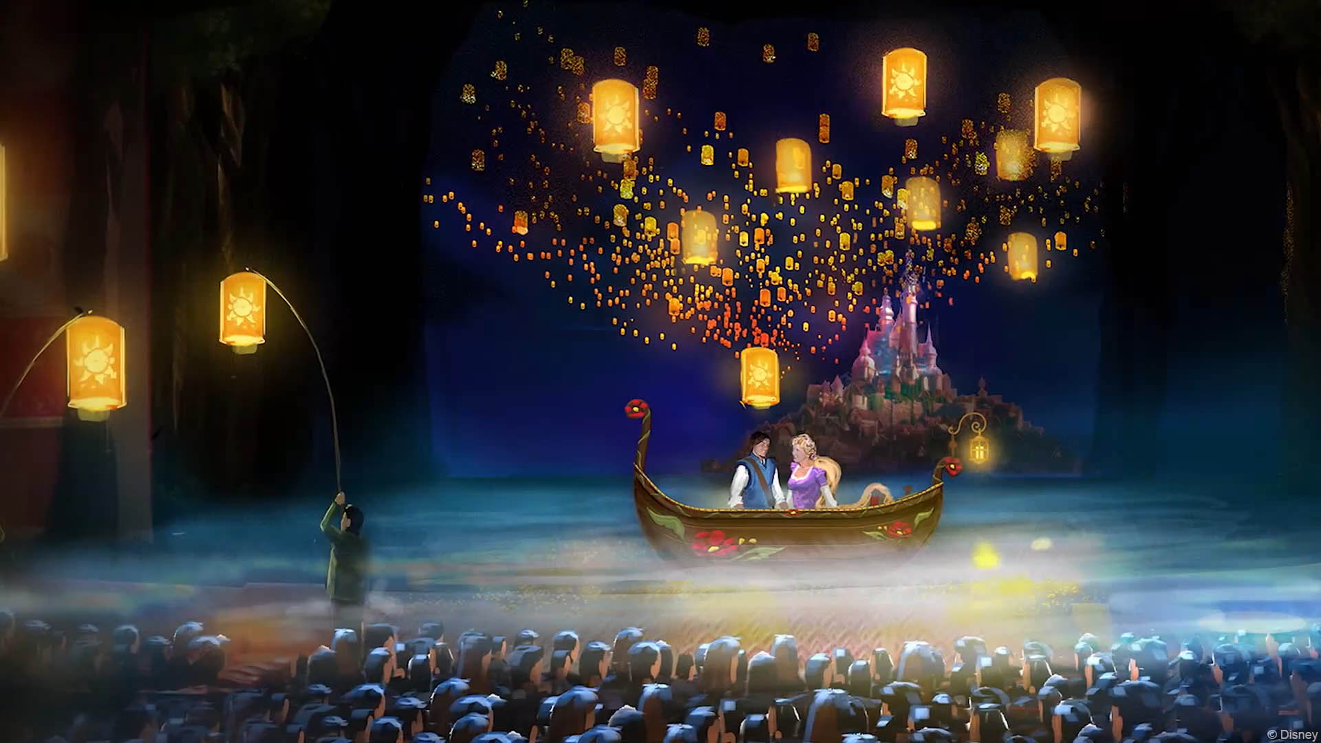 Dream Quotes Wallpaper 1080p A Closer Look At The Set Designs For Tangled The Musical