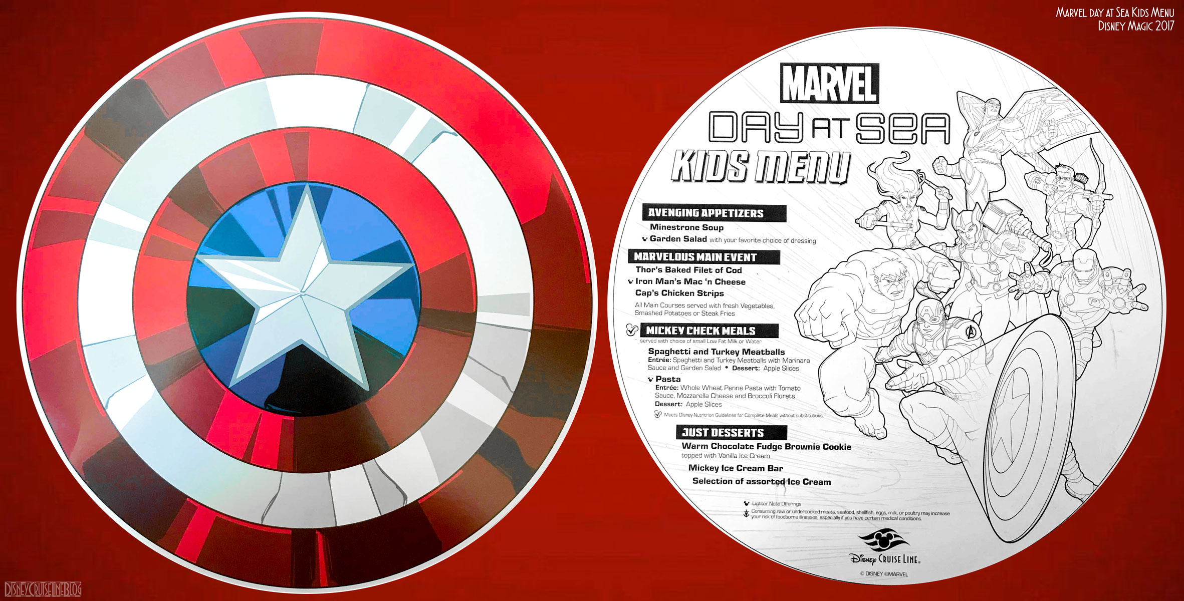 Pinterest Wallpapers Fall Marvel Day At Sea Menu The Disney Cruise Line Blog