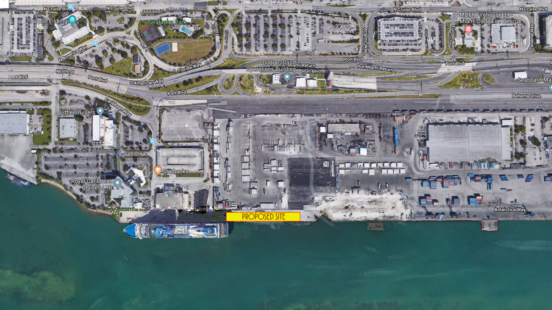 Miami Port Disney Cruise Line Exploring New Terminal And Year Round Sailings