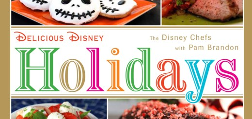 Disney Parks Holiday Cookbook Cover