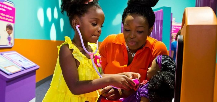 """""""Doc McStuffins: The Exhibit"""" is open now at The Children's Museum of Indianapolis and will tour nationwide."""
