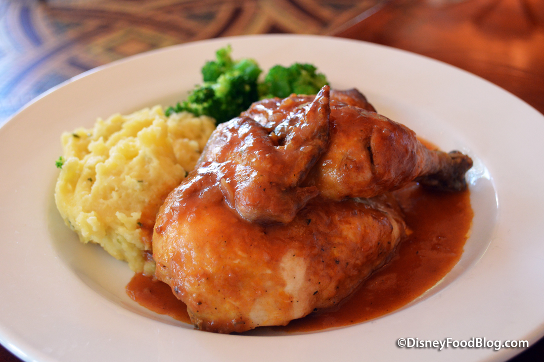 Elevage Fermier Poulet Review: Updated Menu At Chefs De France In Epcot