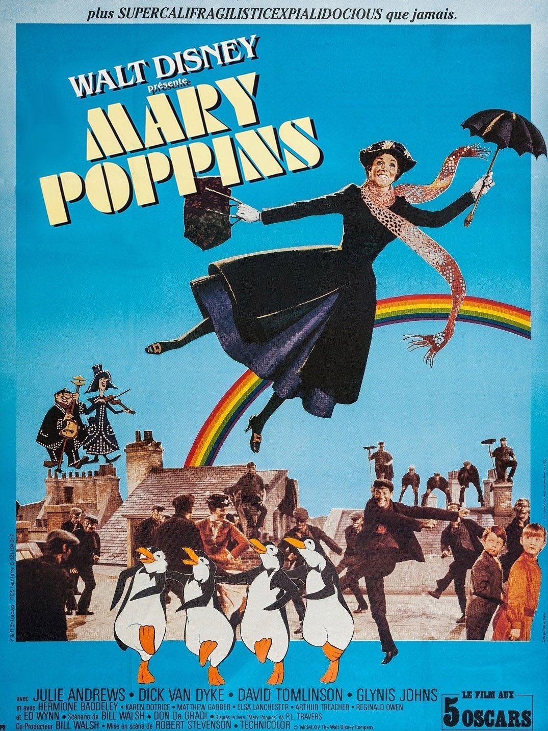 Mary Poppins Cheminée Mary Poppins French Cast Charguigou