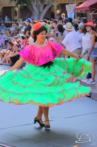 Happiness is dancing when you are with the three cabelleros in Mickey's Soundsational Parade.