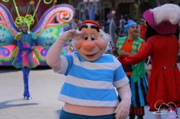 Mr. Smee in Mickey's Soundsational Parade.