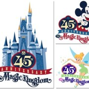 Disney Unveils Magic Kingdom 45th Anniversary Artwork