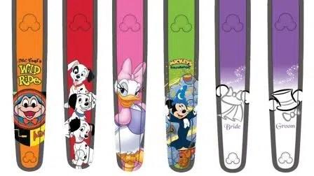 New Disney World Magic Band Artwork Available
