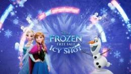 frozen free fall icy shot mobile game