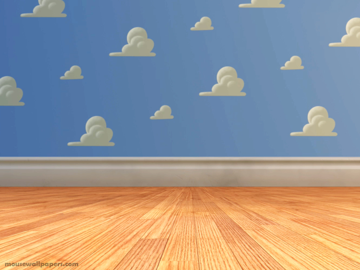 Cloud Wallpaper For Bedroom Toy Story 3 Andys Room Picture Toy Story 3 Andys Room