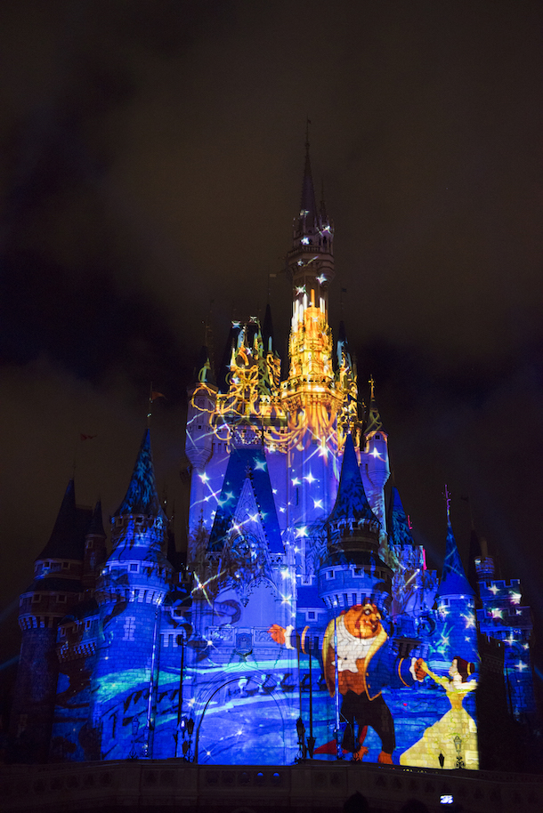 Once Upon A Time Wallpaper Iphone Happily Ever After Fireworks And Projection Spectacular
